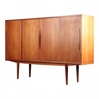 Vintage Danish design teak sideboard/highboard