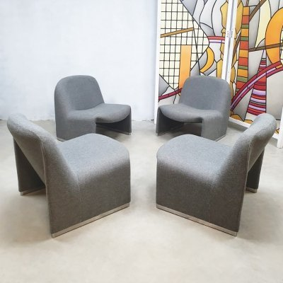 Vintage design Alky lounge chair by Giancarlo Piretti for Castelli