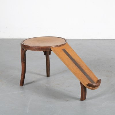 Rare shoe fitting stool by Thonet, Germany 1930s