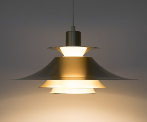 Danish 'Model 1033P' pendant lamp by Frandsen Belysning, 1970s