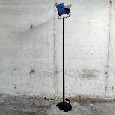 Vintage Triana floor lamp by Arteluce, 1980s