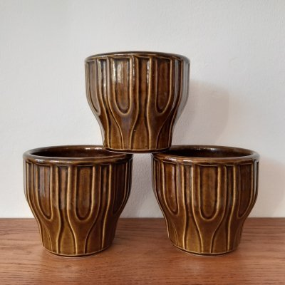 N60122 12 Cache Pots by Jasba, 1970s