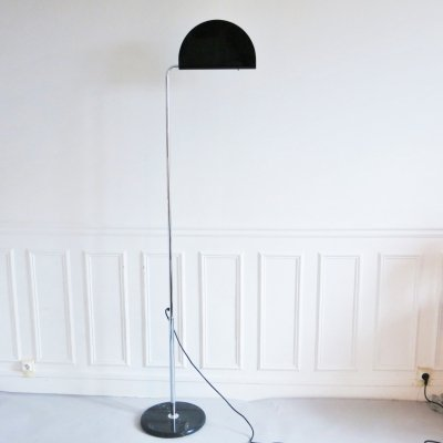 Mezzaluna floor lamp by Bruno Gecchelin for Skipper Pollux, 1970s
