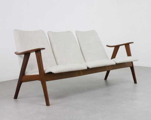 Rare sofa by Louis van Teeffelen for Wébé, NL 1960s