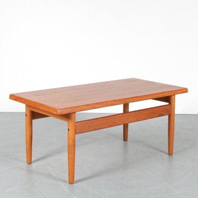 Danish coffee table, 1960s
