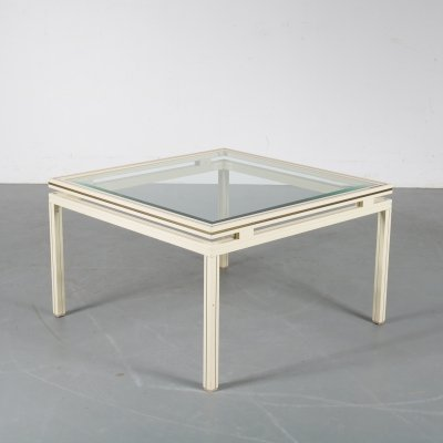 Luxurious coffee table by Pierre Vandel, Paris 1970s