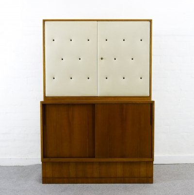 Sideboard-Highboard with Bar by Franz Ehrlich for DW Hellerau, Bauhaus