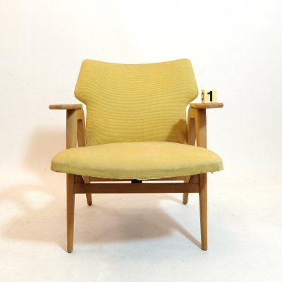 Armchair by Roger Landault, 1950s