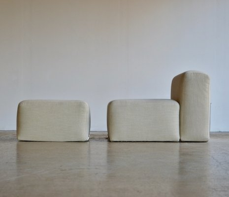 Marcel chair & footstool by Kazuhide Takahama for Gavina, 1970s