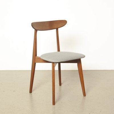Danish chair with teak cross frame