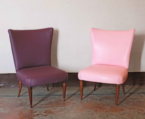 Set of two 1950s vintage chairs