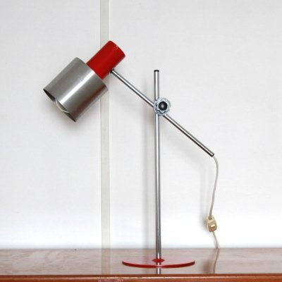 1970s vintage flexible desk lamp