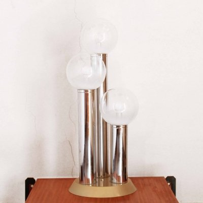 1970s Space age vintage floor lamp from Mazzega
