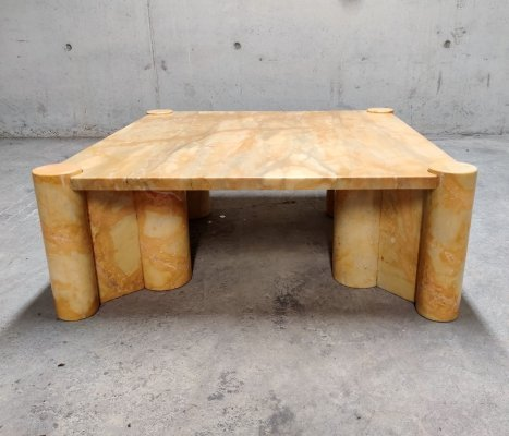 Gae Aulenti 'Jumbo' Table in Marble, 1970s