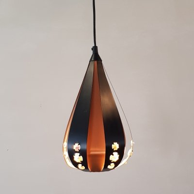 Hanging lamp P112 PB2 by Werner Schou for Coronell, 1960s