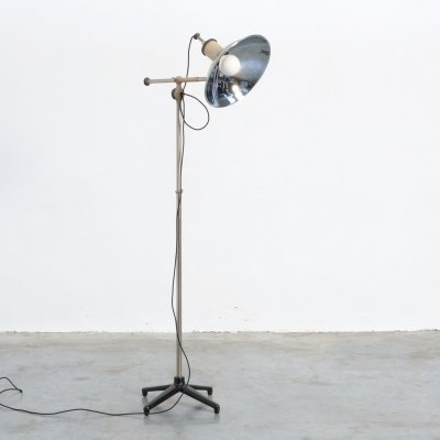 Industrial Floor Lamp, 1950s