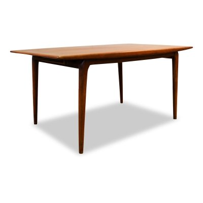 Vintage Danish Alfred Christensen teak 'Boomerang' dining table