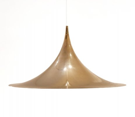 Semi / Heksenhoed hanging lamp by Torsten Thorup & Claus Bonderup for Fog & Mørup, 1960s
