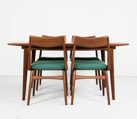 Boomerang dining set by Alfred Christensen for Slagelse Møbelværk, 1960s