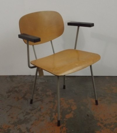 Model 216 desk chair by Wim Rietveld for Gispen, 1950s