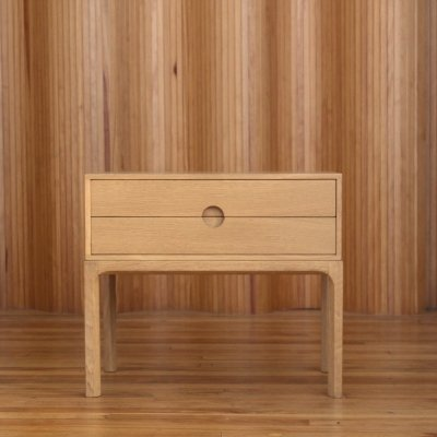 Aksel Kjersgaard model 384 oak low chest