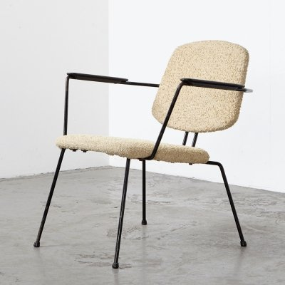 Modernist Easy Chair by Rudolf Wolf for Elsrijk, 1950s
