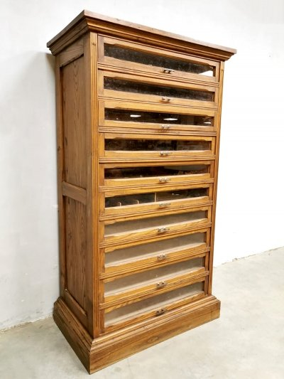 Industrial chest with drawers / cabinet, 1950s