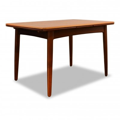 Vintage Svend Aage Madsen teak extendable dining table (small version)