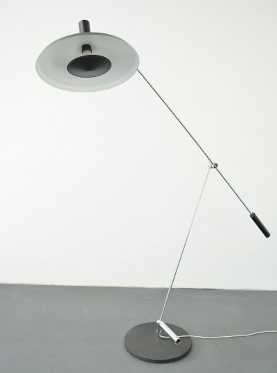 Type 600 floorlamp by Rosmarie & Rico Baltensweiler, 1950s