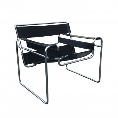 Wassily B3 armchair by Marcel Breuer for Gavina, Italy 1970s