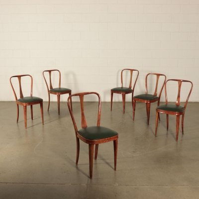 6 Vintage Chairs, 1960s