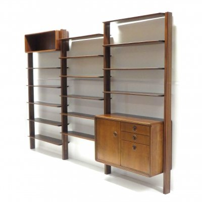 Rare vintage wall system by William Watting for Fristho Franeker, 1950s