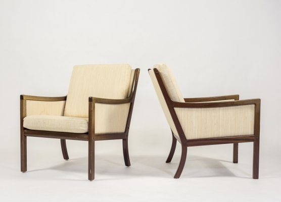 Armchairs by Ole Wanscher for P. Jeppensen
