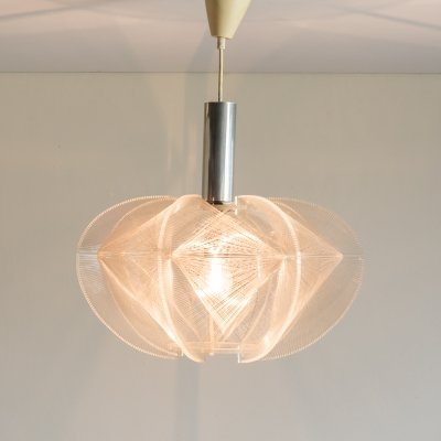 Paul Secon for Sompex wire pendant lamp, 1970's