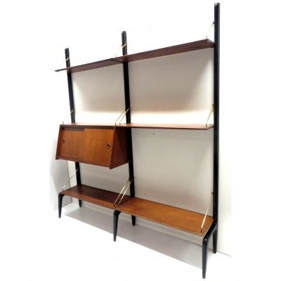 Vintage wall system by Louis van Teeffelen for Wébé, 1960s