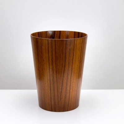 Rosewood Waste Paper Basket by Martin Åberg for Servex, Sweden 1960s