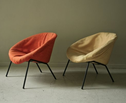 Pair of Model 369 Club chair by Walter Knoll, 1950s