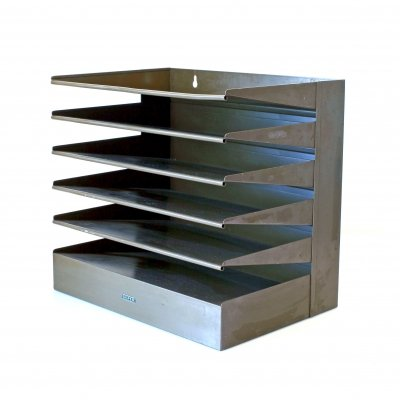 Vintage industrial lettertray by Gispen, 1920s