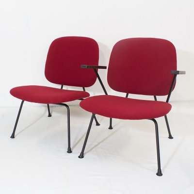 W.H. Gispen for Kembo lounge chair set, 1950s