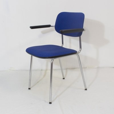Set of 4 Gispen 1235 Cirrus dining room chairs, 1980s