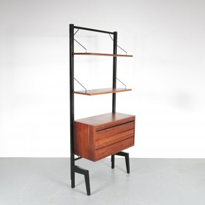 1960s free standing cabinet by Poul Cadovius for Royal System
