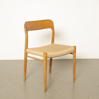 Danish Chair type/model 75 by Niels Otto Møller for JL Møllers