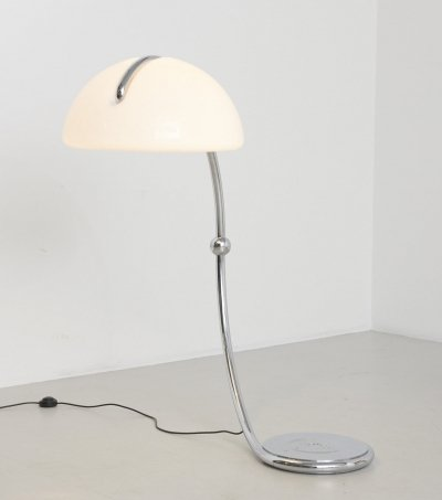 'Serpente' floor lamp by Elio Martinelli, 1960s