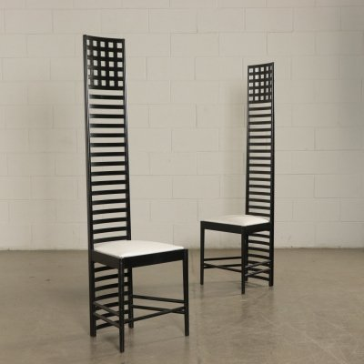 Hill House Chairs by Charles Rennie Mackintosh for Cassina
