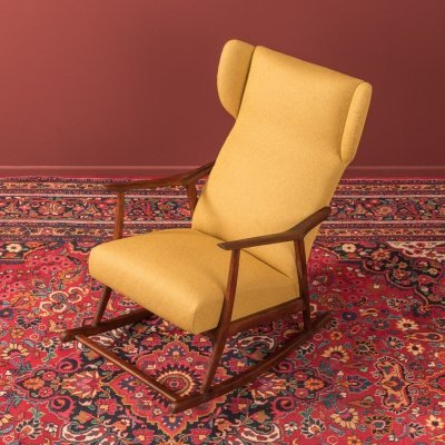 Beechwood rocking chair, Germany 1950s