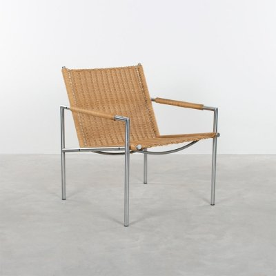 SZ01 Martin Visser armchair with artificial cane