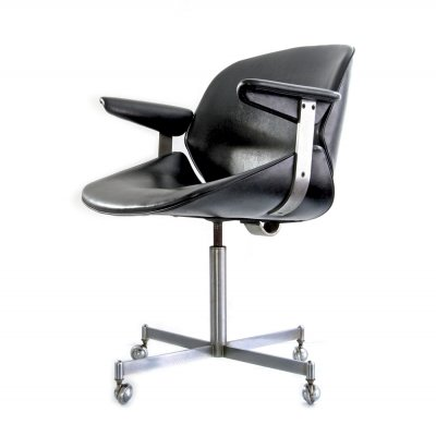 Rare adjustable office chair by Exquis / Artifort, 1960s