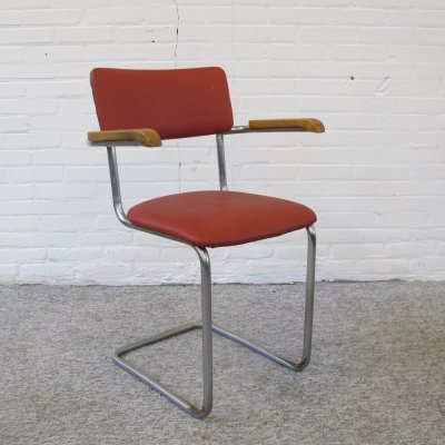 Vintage Tubular chair by W. Gispen