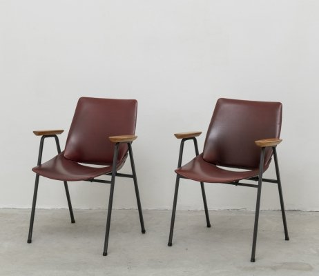Pair of early Lupina Armchairs by Niko Kralj for Stol Kamnik, 1960