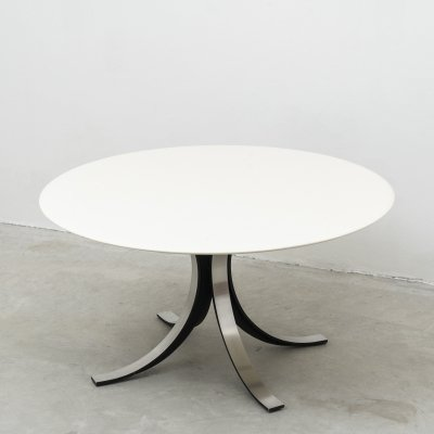 T69 round table by Osvaldo Borsani & Eugenio Gerli for Tecno, 1963